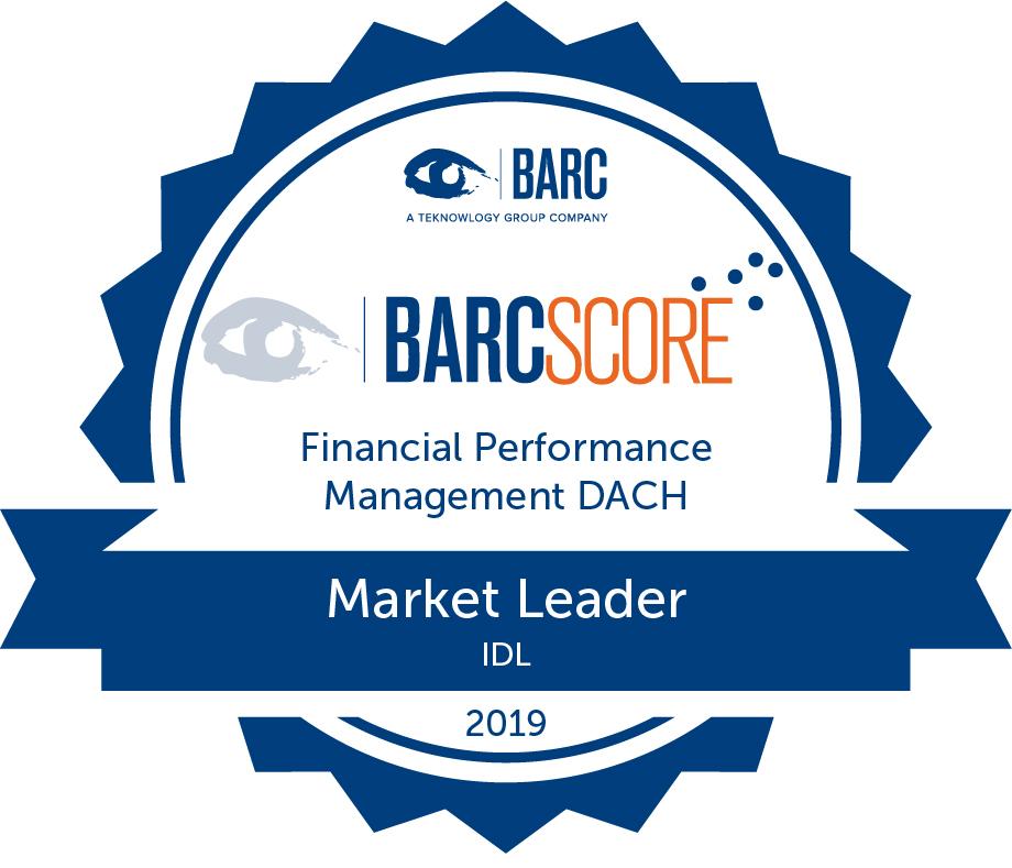 IDL BARC Score Auszeichnung